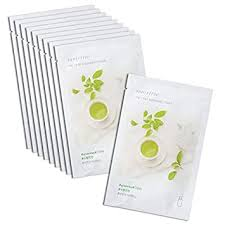 innisfree It's real squeeze mask (10 pack, Green Tea ... - Amazon.com