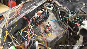 tdi 4runner build pt 14 engine wiring harness tdi 4runner build pt 14 engine wiring harness