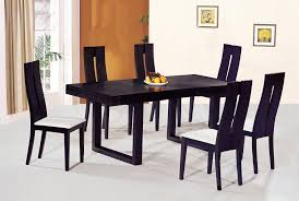 dining sets with chairs contemporary luxury wooden