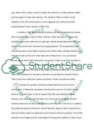hitler deviant behavior essay example topics and well written  hitler deviant behavior essay example
