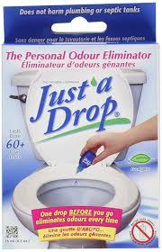Amazoncom Just A Drop Natural Toilet Odor Eliminator - Best bathroom odor eliminator