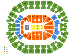 Kfc Yum Center Seating Chart With Rows Sports Simplyitickets