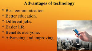 advantages disadvantages of technology media blog advantages of the technology