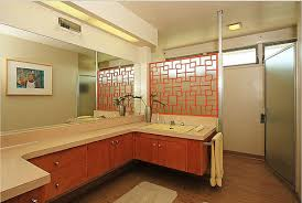 mid century bathroom. 1953-midcentury-modern-home-bathroom Mid Century Bathroom P