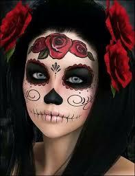 sugar skull face paint male 5