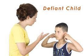 deal with defiant children