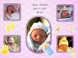 baby 12 month photo frame picture template first year collage templates discovery center india