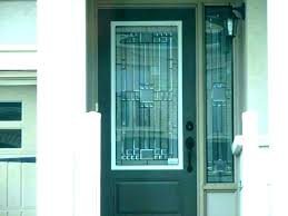 glass front door inserts decorative glass front doors vordooinfo etched glass front door inserts