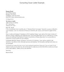 Cover Letter Sample 40 Consulting Mckinsey Netdevilzco Mesmerizing Management Consulting Cover Letter