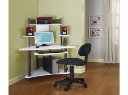 modern office room design with ikea minimalist corner computer