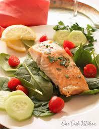 Easy Roasted Salmon Recipe