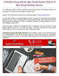 a perfect essay writing service you can at superior essay  ways to professional essay writer outside any type of essay writing service