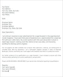Attorney Cover Letter Samples Dew Drops