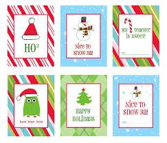 Living Locurto's Printable Christmas Gift Tags & Labels