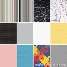 details about new bright coloured vinyl flooring roll quality lino modern look
