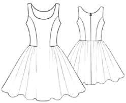 Modern Sewing Patterns Extraordinary Women Dresses 48 Short Dress