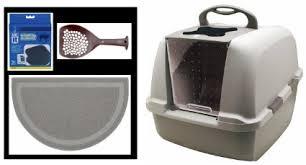 hagen catit hooded cat litter box. Buy Catit Jumbo Hooded Cat Litter Pan - Warm Gray In Cheap Price . Hagen Box R