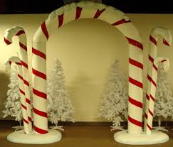 Candy Cane Theme Decorations candy decorations for christmas Candy Cane Christmas Theme Party 8