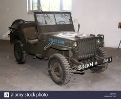 Jeep Willy 1941 in the tank museum, Saumur, France Stock Photo ...