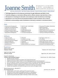 22 Instructional Technology Specialist Resume Brucerea Com