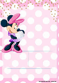 Free Minnie Mouse Birthday Invitations Minnie Mouse Invitation Template Editable And Free
