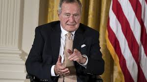 George Hw Bush Will Vote For Hillary Clinton Sources Say