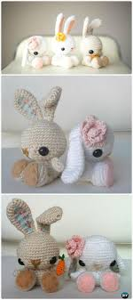 Free Crochet Bunny Pattern Classy Crochet Amigurumi Bunny Toy Free Patterns Instructions