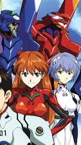 Neon Genesis Evangelion, anime ...