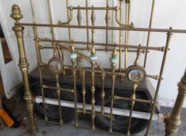 antique brass bed. Brass Beds Mother Of Pearl And Porcelain Sales Restorations Timeless Antiques Antique Bed S