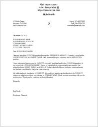Downloadable Cover Letter Templates Cover Letter Sample Download
