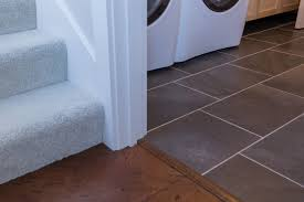 how to install tile on stairs with bullnose stair treads tiles for residential wood look ceramic