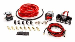 quickcar racing products race car parts performance gauges 50 832 wiring kit premium 4 ga w black 50 820 panel