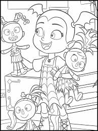 Check out our vampirina coloring selection for the very best in unique or custom, handmade pieces from our there are 24 vampirina coloring for sale on etsy, and they cost $10.56 on average. Vampirina Coloring Pages 17