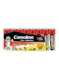<b>Батарейки</b> LR6-SP8, <b>АА</b>, 8шт. <b>Camelion</b> 8148321 в интернет ...