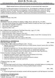 Attorney Resume Ex Trend Associate Attorney Resume Sample Best