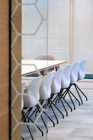rackspace office morgan lovell. Meeting Room With Blue Chairs In A New Office Rackspace Morgan Lovell