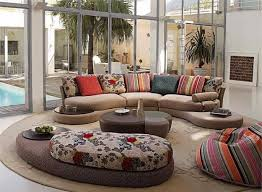 round living room design