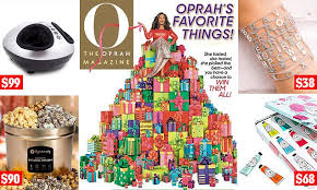 oprah s favorite things 2018 annual gift list revealed on gma s deals and steals daily mail