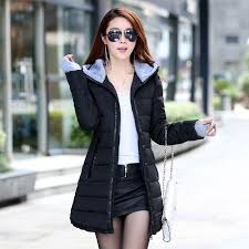 big size 3xl winter jacket women 2017 new europe style hooded slim medium long hooded black plus size parkas winter coats las blow up tictail