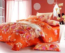 fabulous orange bed sets the teens bedding sets is fun and fresh style this np01