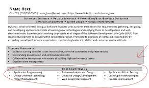 Sample Core Competencies For Resume Resume Core Competencies Examples Savebtsaco 5