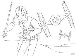 Small Picture Star Wars Rebels Kanan coloring page Free Printable Coloring Pages