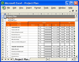 Microsoft Excel Project Template Project Plan Template In Excel Free Printable Schedule