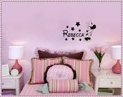 Minnie Mouse Wallpaper For Bedroom Minnie Mouse Wall Decals Home Decorations Ideas