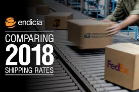 Ups Ground Rates Chart 2018 Comparing Shipping Rates In 2018 Fedex Vs Ups Vs Usps