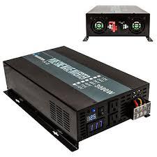 <b>Pure Sine</b> Wave Inverter 3000W Power Inverter 12V to 120V <b>Off Grid</b> ...