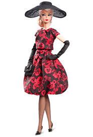 barbie elegant rose tail dress doll