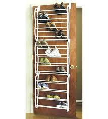 over the door storage rack over the door shoe rack that holds pairs of at closetmaid over the door storage rack