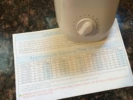 Munchkin Bottle Warmer Instruction Chart Kiinde Kozii Review Babygearlab