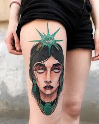 девушки с татуировками узнали зачем самарчанки рисуют на своем
